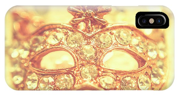 Jewelery iPhone Case - Ballroom Glitter by Jorgo Photography - Wall Art Gallery