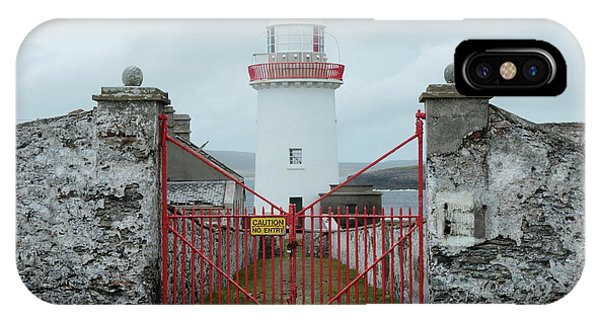 Ballyglass Lighthouse IPhone Case