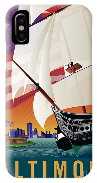 Baltimore - By The Dawns Early Light IPhone Case