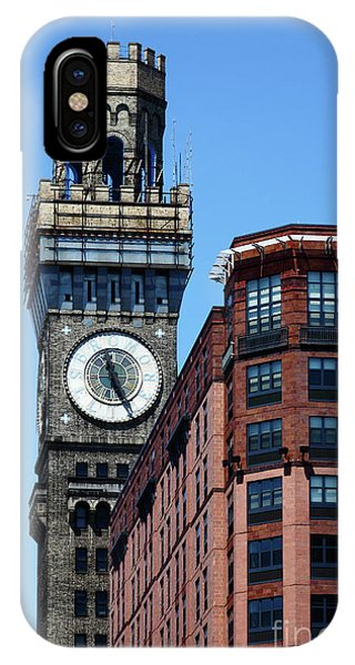Baltimore Bromo Seltzer Tower IPhone Case