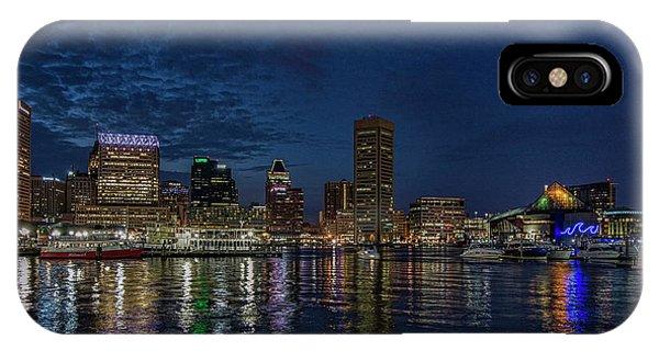 Baltimore Harbor IPhone Case
