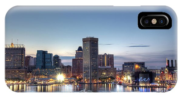 Baltimore Harbor IPhone Case