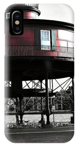 Baltimore Lighthouse IPhone Case