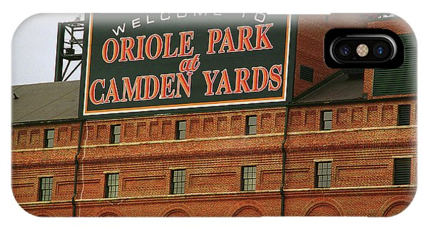 Yard iPhone Case - Baltimore Orioles Park At Camden Yards by Frank Romeo