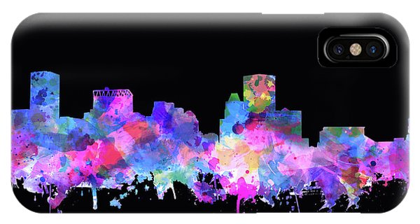 Baltimore Skyline Watercolor 5 IPhone Case