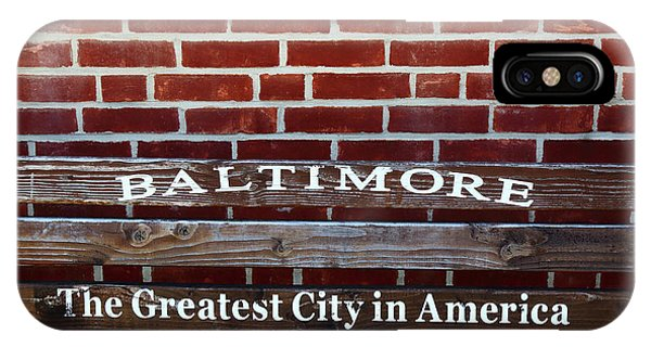 Baltimore The Greatest City In America IPhone Case