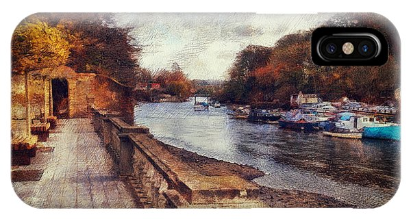 Balustrades And Boats IPhone Case
