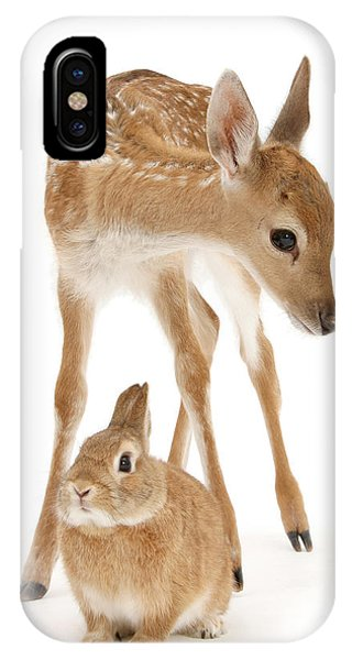 Bambi And Thumper IPhone Case