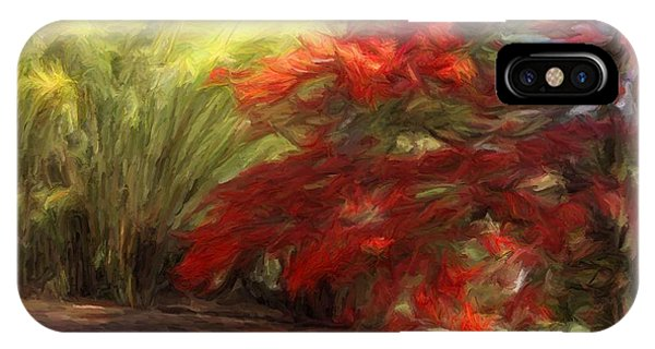 Bamboo And The Flamboyant IPhone Case
