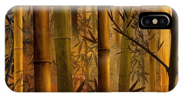 Peru iPhone Case - Bamboo Heaven by Peter Awax