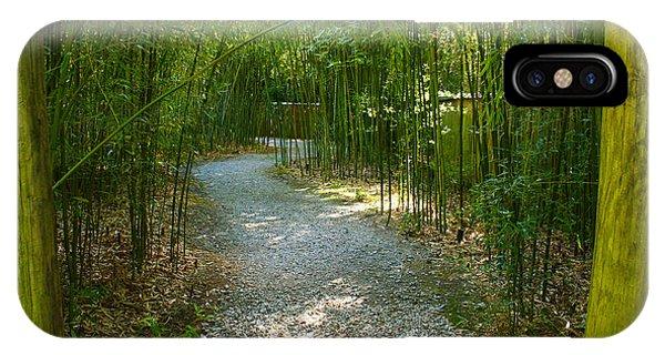 Bamboo Path 2 IPhone Case