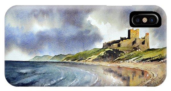 iPhone Case - Bamburgh Castle by Paul Dene Marlor