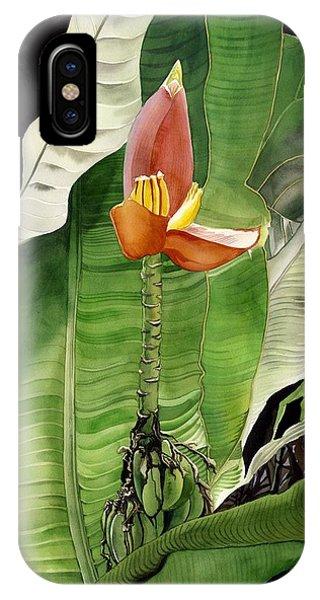 Banana Blossom IPhone Case