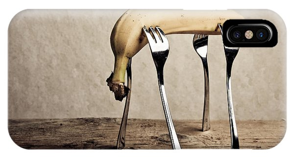 Banana iPhone Case - Banana by Nailia Schwarz
