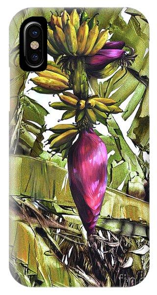 Banana Tree No.2 IPhone Case