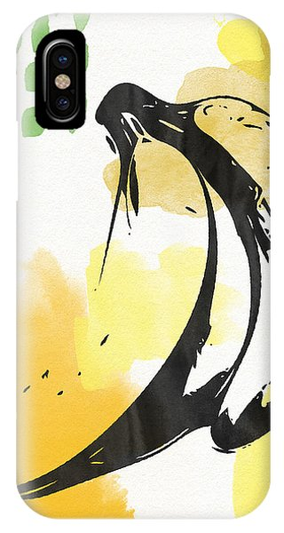 Fruit iPhone Case - Bananas- Art By Linda Woods by Linda Woods