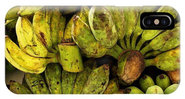 Bananas At Market IPhone Case