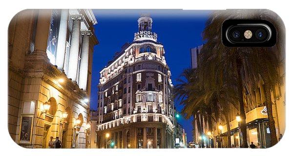 Banco De Valencia IPhone Case