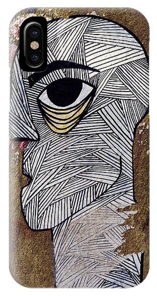 Bandage Man IPhone Case