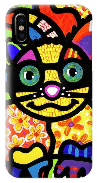 Bandit The Lemur Cat IPhone Case