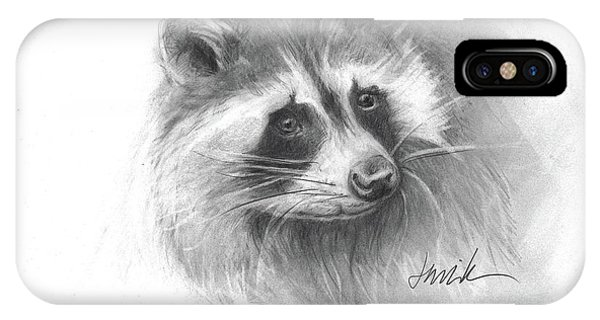 Bandit The Raccoon IPhone Case