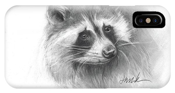 Bandit The Raccoon IPhone Case