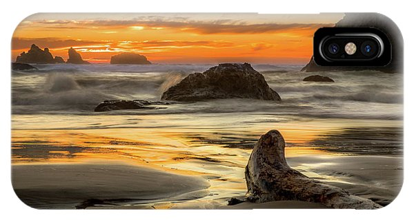 Bandon Orange Glow Sunset IPhone Case