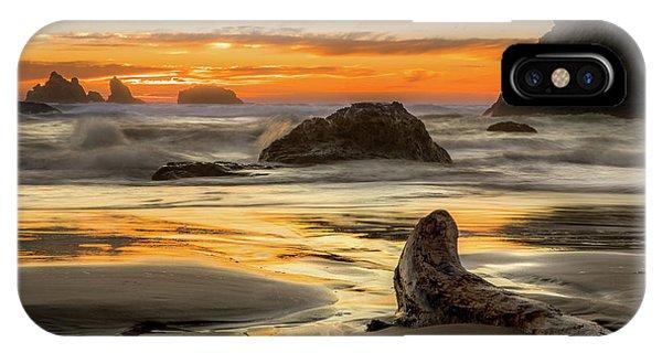 Bandon Orange Glow Sunset IPhone Case