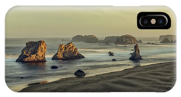 Bandon Sunrise Pano IPhone Case