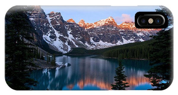 Banff - Moraine Lake Sunrise IPhone Case