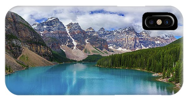 Banff Size Test IPhone Case