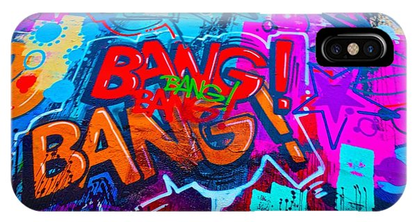 Bang Graffiti Nyc 2014 IPhone Case
