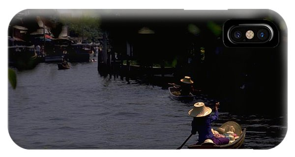 Bangkok Floating Market IPhone Case