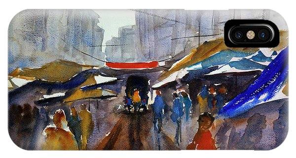 Bangkok Street Market IPhone Case