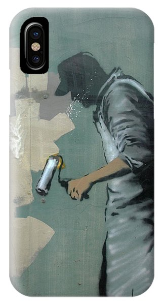 Banksy In New Orleans IPhone Case