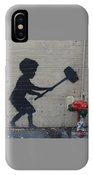 Banksy In New York IPhone Case