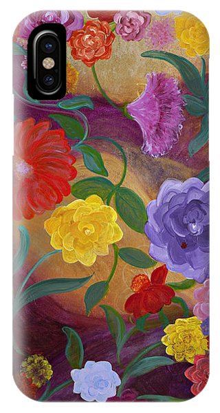 Banner Blossoms Phone Case by Sabra Chili