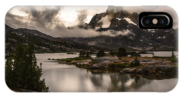 Banner Peak In A Clearing Storm IPhone Case