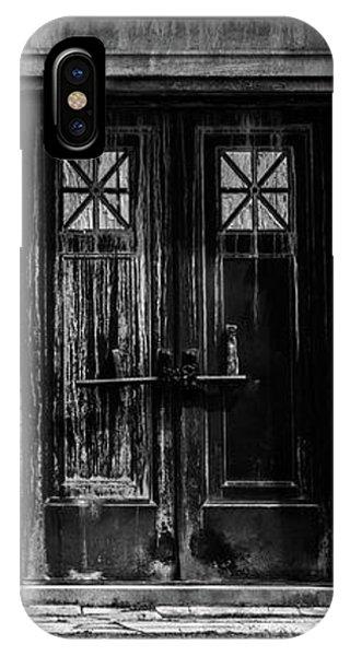 Bar Across The Door IPhone Case