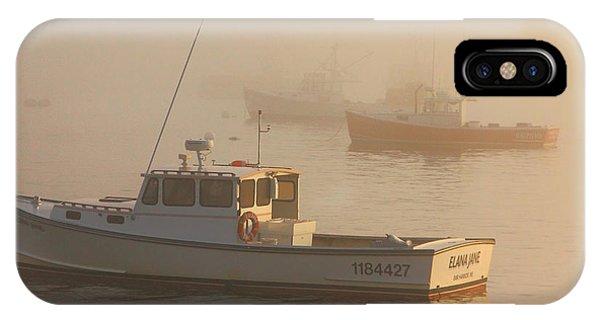 Bar Harbor Fleet IPhone Case