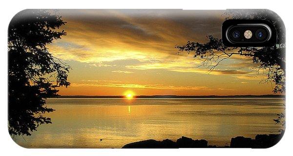Bar Harbor Sunrise 1 IPhone Case