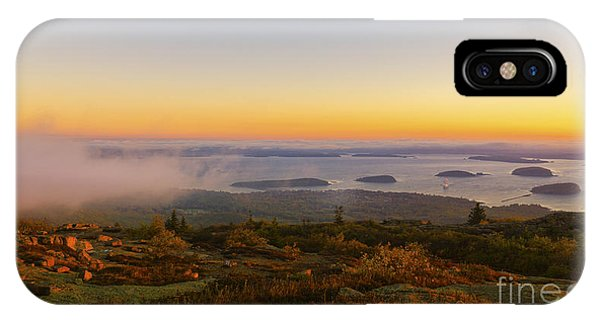 Bar Harbor Sunrise. IPhone Case