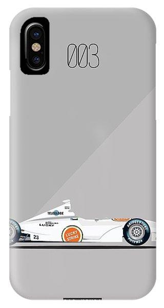 Bar Honda 003 F1 Poster IPhone Case