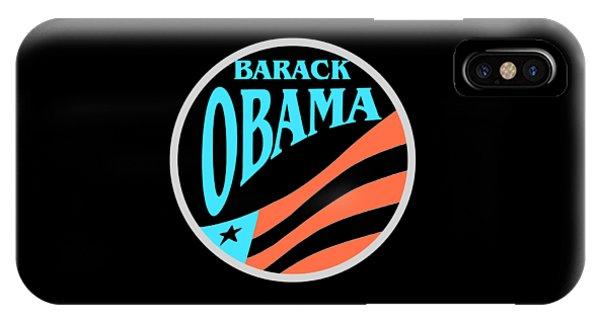 Sports Clothing iPhone Case - Barack Obama Design by Peter Potter