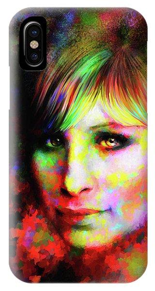 Barbara Streisand IPhone Case