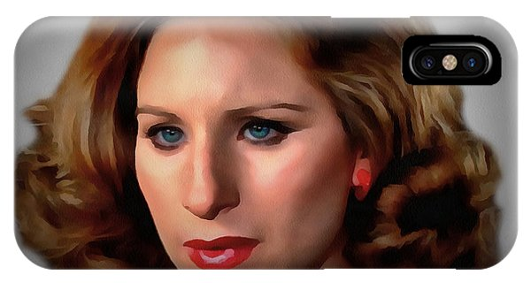 Barbara Streisand IPhone Case