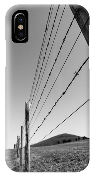 Barbed Fence IPhone Case