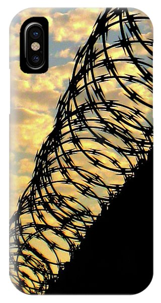Barbed Sunset IPhone Case