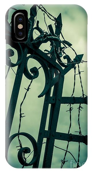 Barbed Wire Gate IPhone Case
