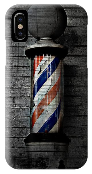 Barber Pole Blues  IPhone Case